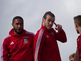 Ashley Williams Gareth Bale Image by Jon Candy