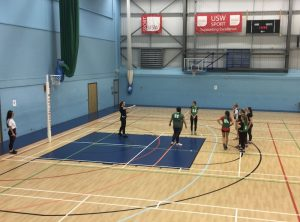 USW netball 2nd's training at USW Sport Park Treforest - Wednesday 2nd October 2019 - Credit Kristóf Iványi