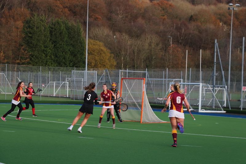 USW Womens 1st Lacrosse v Royal Agricultural Women's 1st at USW Sport Park 27/11/19 - Photo Ellie Reynolds
