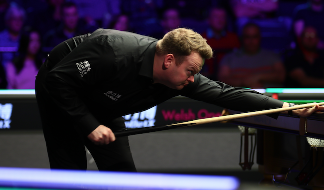 Murphy sealed his place in the Welsh Open final [Tai Chengze]